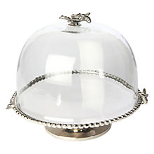 Buy Culinary Concepts Bee Domed Cake Stand Online at johnlewis.com