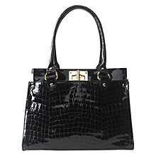 Buy Hobbs Polly Croc Bag Online at johnlewis.com