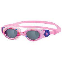 Buy Zoggs Little Comet Swimming Goggles, Red Online at johnlewis.com