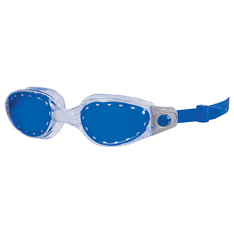 Buy Zoggs Phantom Elite Junior Swimming Goggles, Blue/Clear Online at johnlewis.com