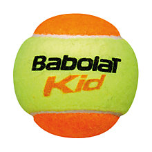 Buy Babolat Play & Stay Orange Ball Online at johnlewis.com