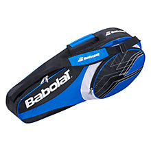 Buy Babolat Club Line 3 Racket Bag, Blue/Black Online at johnlewis.com