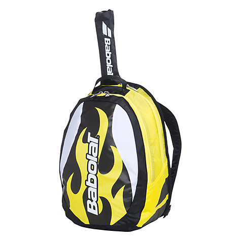 Buy Babolat Boy's Tennis Backpack, Yellow/Black Online at johnlewis.com