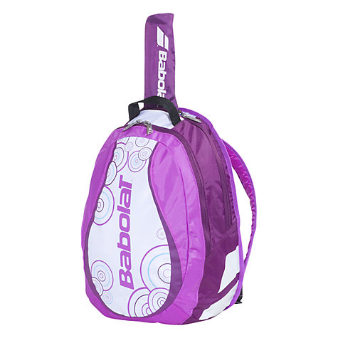 Buy Babolat Girls's Tennis Backpack, Purple/White Online at johnlewis.com
