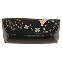 Buy Radley Amble Glasses Case, Black Online at johnlewis.com