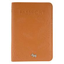Buy Radley Ashworth Leather Passport Cover Online at johnlewis.com