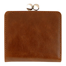 Buy Tula Clipframe Veg-Tanned Purse Online at johnlewis.com