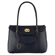 Buy Tula Fitzgerald Large Tote Handbag, Navy Online at johnlewis.com