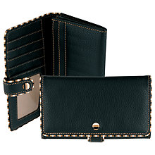 Buy Tula Mallory Large Matinee Foldover Purse, Black Online at johnlewis.com