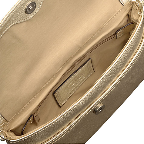 Buy Tula Originals Party Flapover Across Body Handbag, Gold Online at johnlewis.com