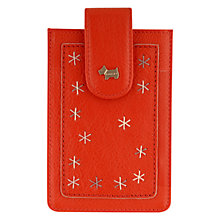 Buy Radley Star Gazing Leather iPhone Case Online at johnlewis.com