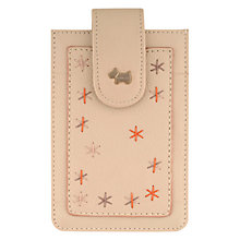 Buy Radley Star Gazing Leather iPhone Case, Cotton Online at johnlewis.com