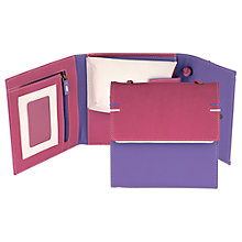 Buy Tula Large Violet Travel Wallet, Pink Online at johnlewis.com