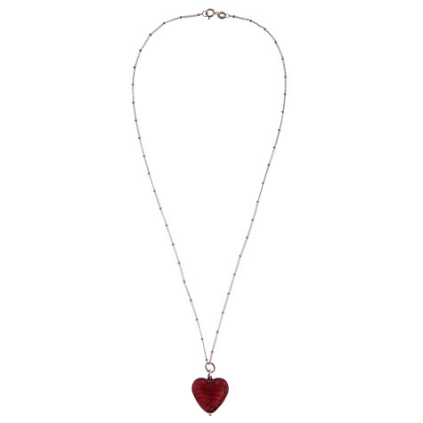 Buy Martick Murano Glass Heart Pendant Online at johnlewis.com