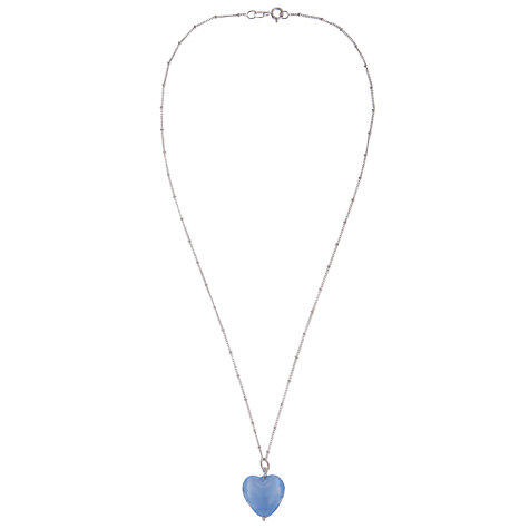 Buy Martick Murano Glass Bohemian Heart Pendant Online at johnlewis.com