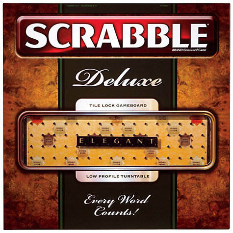 Buy Mattel Scrabble Deluxe Online at johnlewis.com