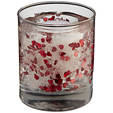 Buy Stoneglow Red Rose Gel Candle, Red Online at johnlewis.com