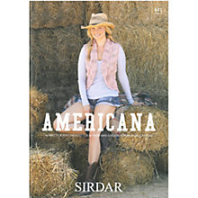 Buy Sirdar Americana Knitting Book, 441 Online at johnlewis.com