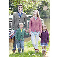 Buy Sirdar Bonus Aran Tweed Knitting Leaflet, 9696 Online at johnlewis.com