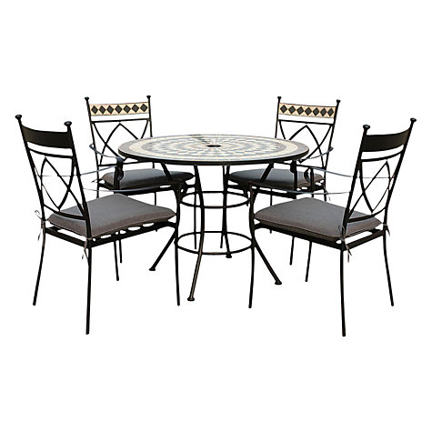 Buy Leisuregrow Casablanca Outdoor 4 Seater Dining Set Online at johnlewis.com
