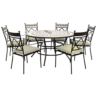 Leisuregrow Casablanca Outdoor 6 Seater Dining Set