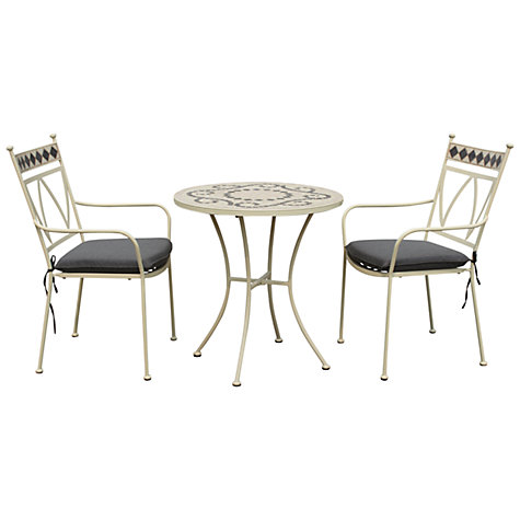 Buy Leisuregrow Marrakech 2 Seater Outdoor Bistro Set Online at johnlewis.com