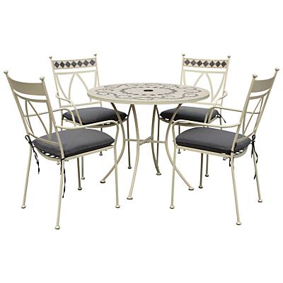 Leisuregrow Marrakech 4 Seater Outdoor Dining Set