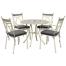 Buy LG Outdoor Marrakech 4 Seater Outdoor Dining Set Online at johnlewis.com