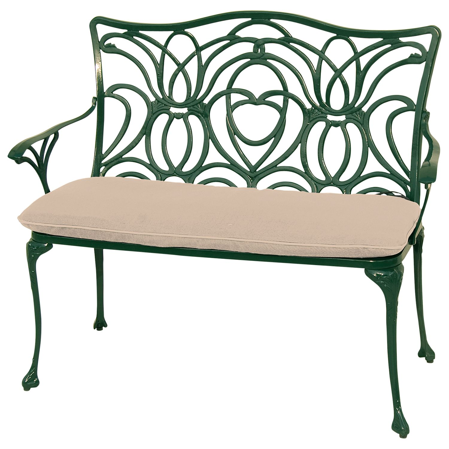 Leisuregrow Norfolk Garden Bench Green