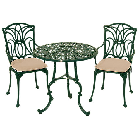 Buy Leisuregrow Norfolk Outdoor 2 Seater Bistro Set Online at johnlewis.com