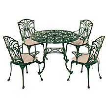 Buy Leisuregrow Norfolk 4 Seater Outdoor Dining Set Online at johnlewis.com