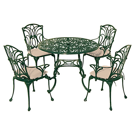Buy Leisuregrow Norfolk Outdoor 4 Seater Outdoor Dining Set Online at johnlewis.com