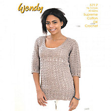 Buy Wendy Crochet Top Leaflet, 5717 Online at johnlewis.com