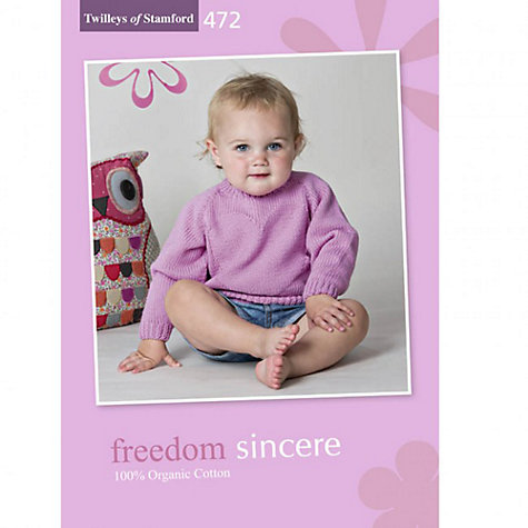 Buy Twilleys Freedom Sincere Knitting Brochure, 472 Online at johnlewis.com