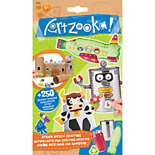 Buy Artzooka Sticker Recycle Creations Online at johnlewis.com