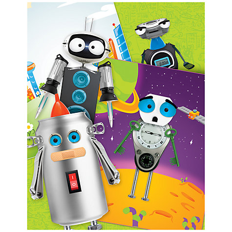 Buy Artzooka Clingzooka Robots Stickers Online at johnlewis.com