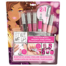 Buy Style Me Up Perfect Nail Markers Online at johnlewis.com