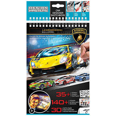 Lamborghini Car Designer Sketchbook, Small