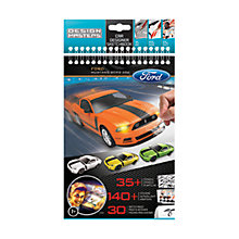 Buy Ford Car Designer Sketchbook, Mustang Online at johnlewis.com