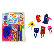 Buy Mister Maker Finger Puppet Making Kit Online at johnlewis.com