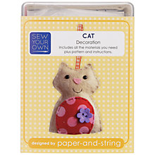 Buy Paper and String Make Your Own Mini Cat Kit Online at johnlewis.com