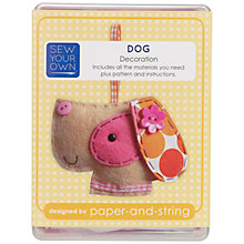 Buy Paper and String Make Your Own Mini Dog Kit Online at johnlewis.com