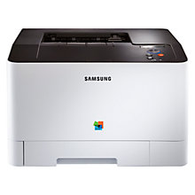 Buy Samsung CLP-415NW Wireless Colour Laser Printer Online at johnlewis.com