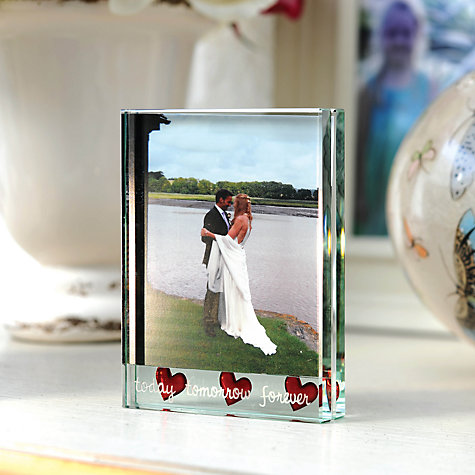 "Buy Spaceform Today, Tomorrow, Forever Photo Frame, 4 x 41/2"" (10 x 11cm) Online at johnlewis.com"