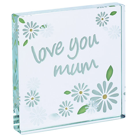 Buy Spaceform Love Mum Daisy Token, Mini Online at johnlewis.com