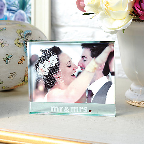 "Buy Spaceform Mr & Mrs Frame, Big, 5 x 7"" (13 x 18cm) Online at johnlewis.com"