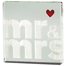 Buy Spaceform Mr & Mrs Mini Token Online at johnlewis.com