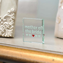 Buy Spaceform Wedding Mother of the Bride Token Online at johnlewis.com