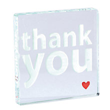 Buy Spaceform Wedding Thank You Token Online at johnlewis.com