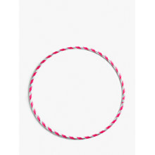 Buy John Lewis Striped Single Hula Hoop, Assorted Online at johnlewis.com